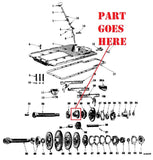 20 Tooth Transmission Reverse Spline Gear for IH Farmall Tractors