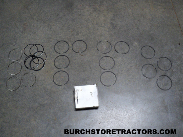 Ford 2000 Tractor Engine Piston Ring Kit