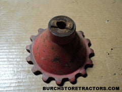 ford 541 tractor fertlizer unit drive gear