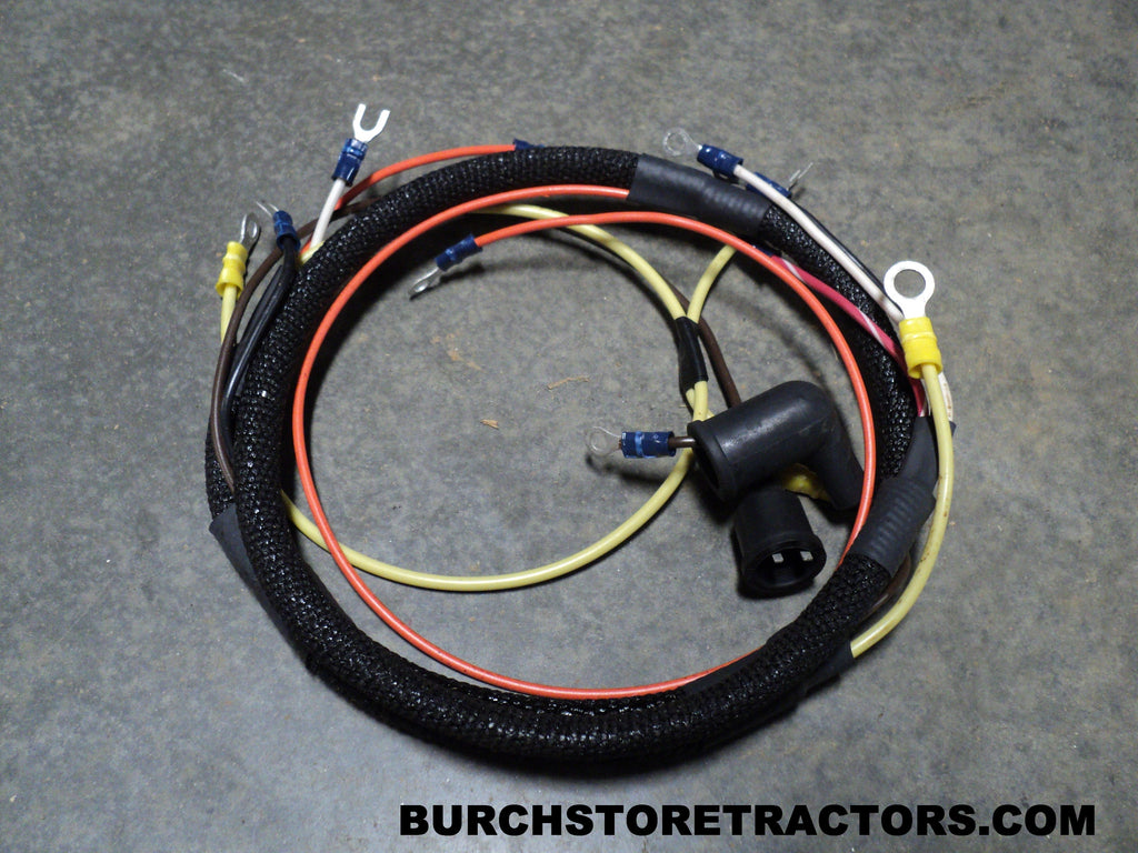 Tractor Wiring Harness Schematics Diagram Ford 3000 Instrument Cluster New For Naa Jubilee Tractors Faf14401b Free