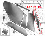 Landside for Ford GP and HD Moldboard Plows