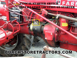 New Saddle Starter Switch for IH Farmall Tractors