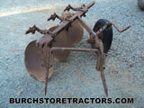 Farmall 400 Tractor 2 Point Hitch Disc Turning Plow