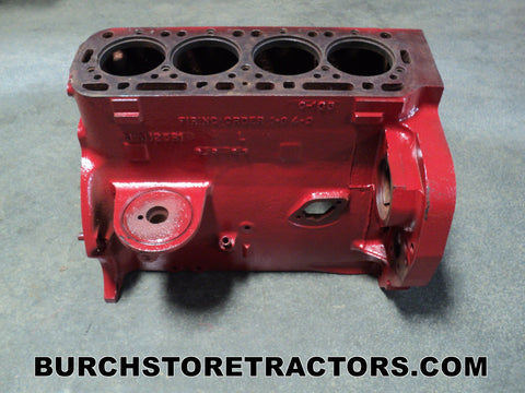 International 340 Tractor Engine Block