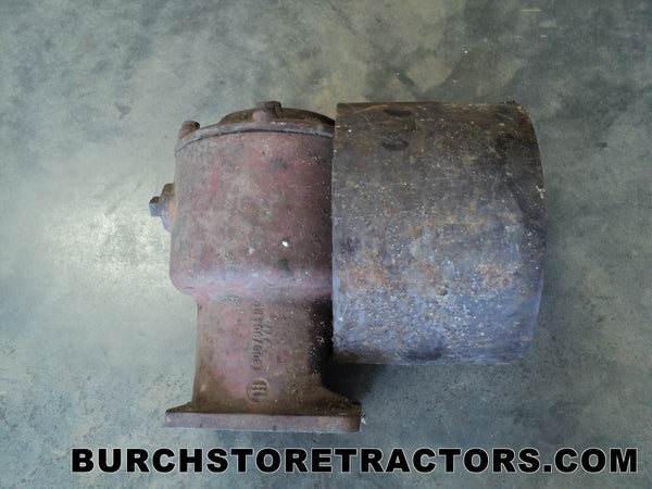International 424 Tractor Belt Pulley Gearbox
