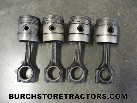 International 444 Tractor Engine Connecting Rods