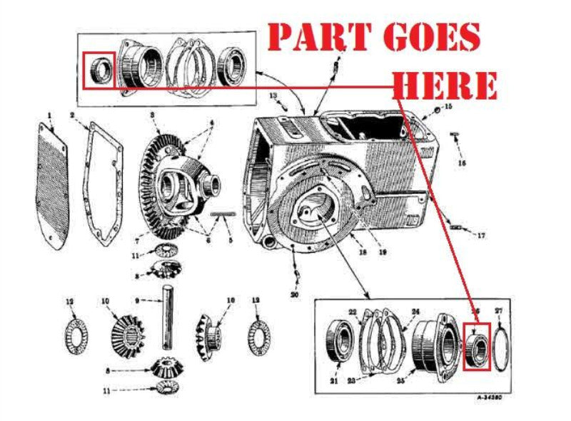 Farmall 140 Tractor Parts Diagram - Wiring Diagram & Cable ... on