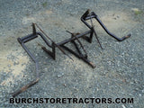 International Super C Tractor 2 Point Fast Hitch Cultivator