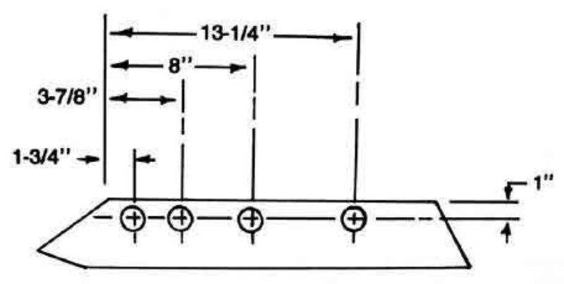 16 Inch Plow Share for IH Super Chief Plows, 463241R
