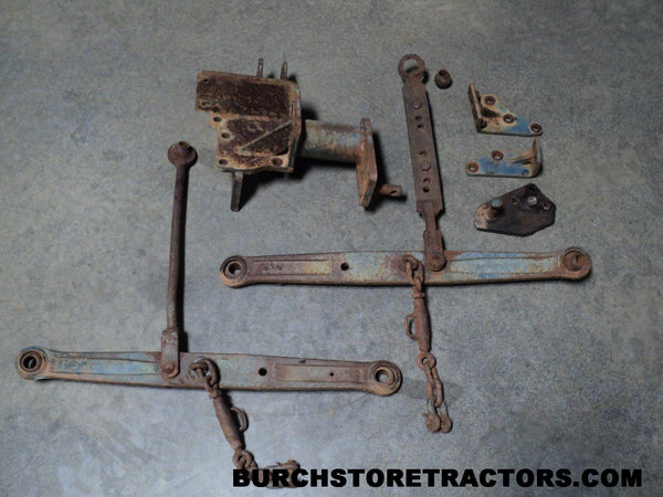 Kubota L H Tractor Point Hitch Grande