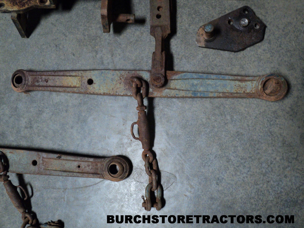 Tractor 3 Point Hitch Parts Kubota : Point hitch assembly for kubota l h tractors burch