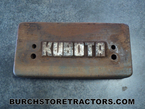 Kubota L260 Tractor Front End Weight