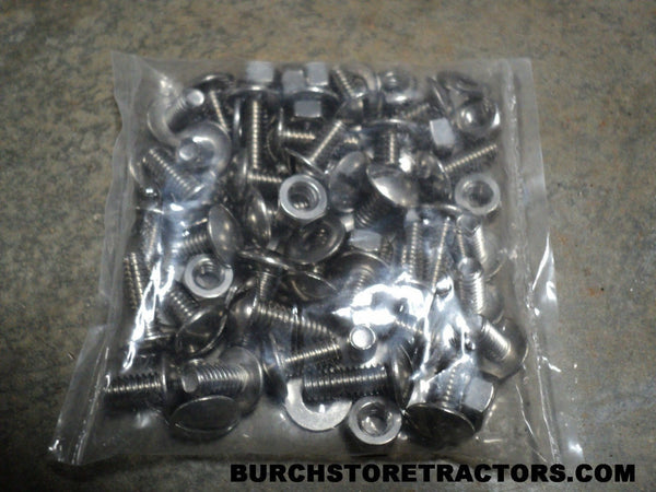 Massey Harris Pacer and Pony Tractor Sheet Metal Screws