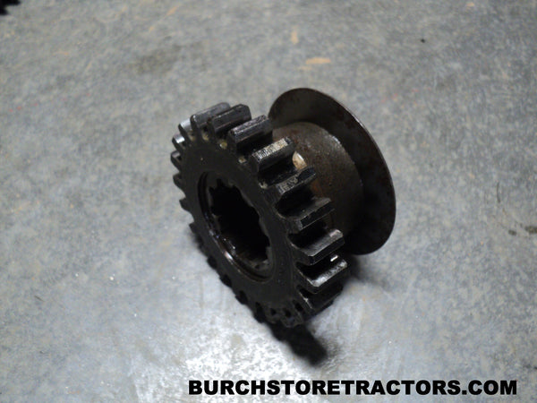 Old Tractor Transmission Gears : Tooth transmission reverse spline gear for farmall