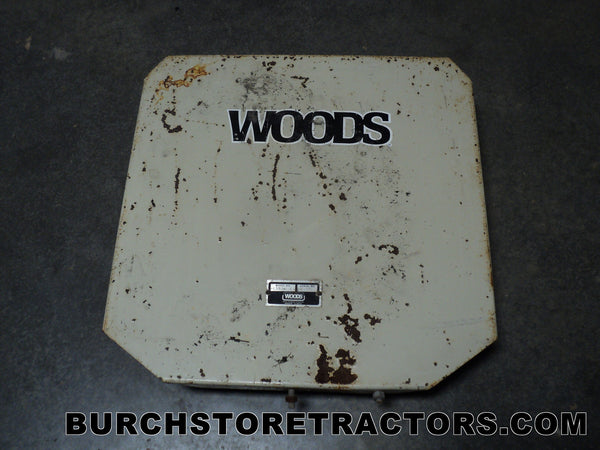 Woods Mower V Belt Shield