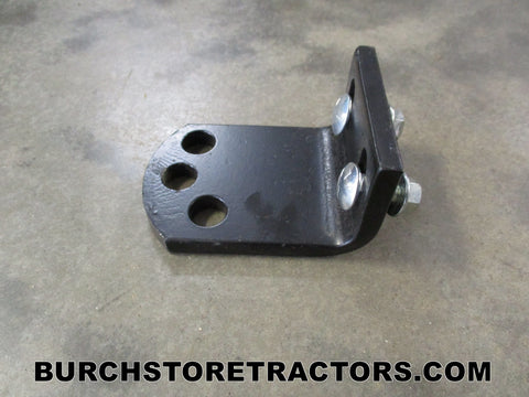 Woods Mower left Front Roller Bracket
