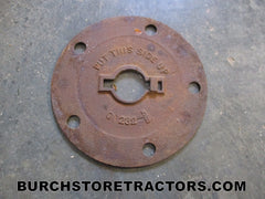 avery planter seed plate