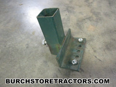 cole planter hitch support bracket