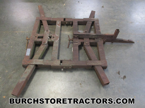 farmall 140 1 point hitch disc harrow frame