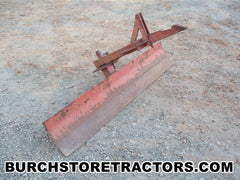 farmall 140 tractor 1 point hitch scrape blade