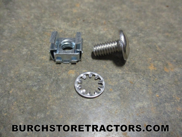 Farmall 100 tractor grill insert screw