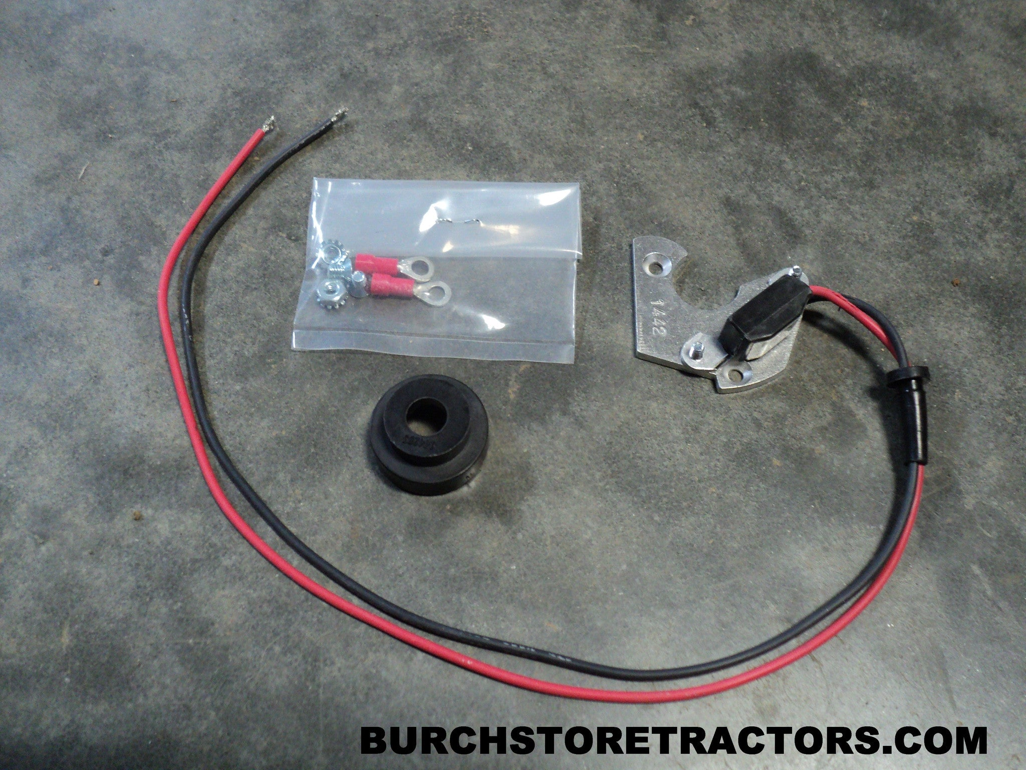 New Electronic Ignition For Farmall 100 130 140 200 230 240 Tractor Electrical Wiring Supe Burch Store Tractors