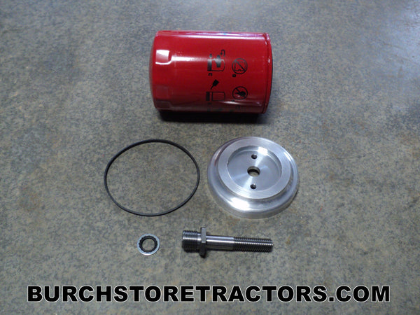farmall 140 tractor spin on oil filter kit