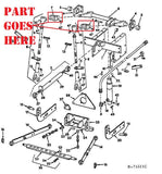 3 Point Hitch Parts for International 184  Cub Tractors, 520126R1
