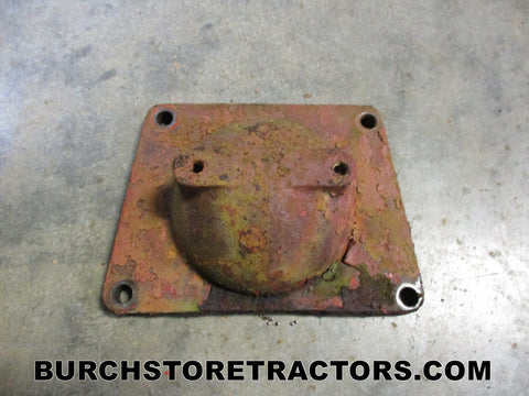 farmall super a tractor belt pulley gearbox plate