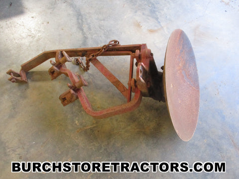 farmall cub tractor 1 point hitch disc plow