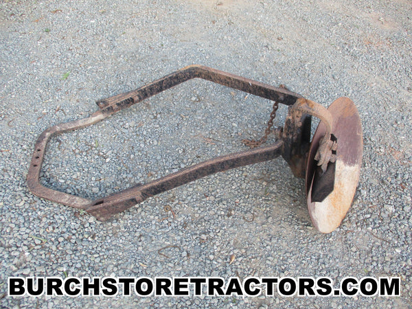 farmall cub tractor belly mount disk plow
