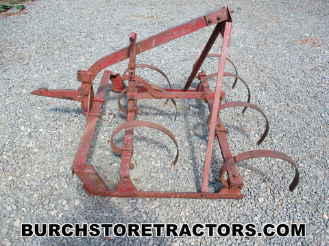 farmall cub tractor 1 point hitch spring tooth harrow
