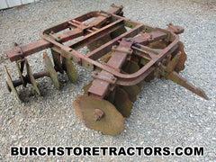 farmall 140 tractor 1 point fast hitch disc harrow