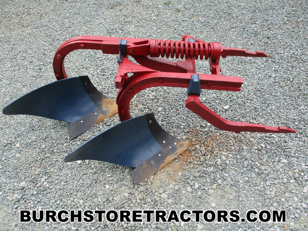 farmall super c tractor 2 point hitch bottom plow
