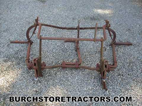 farmall super c tractor rear cultivator attachment