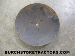 field planter row marker disc