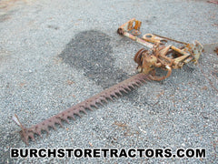 international 404 tractor sickle bar mower