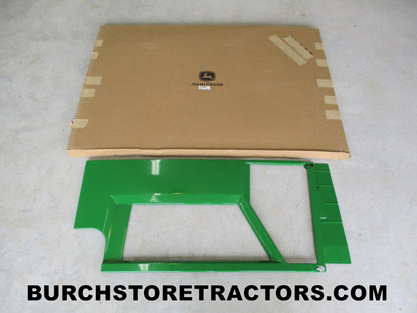 new john deere 7400 tractor right side engine shield