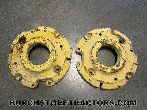 john deere m tractor front wheel weights