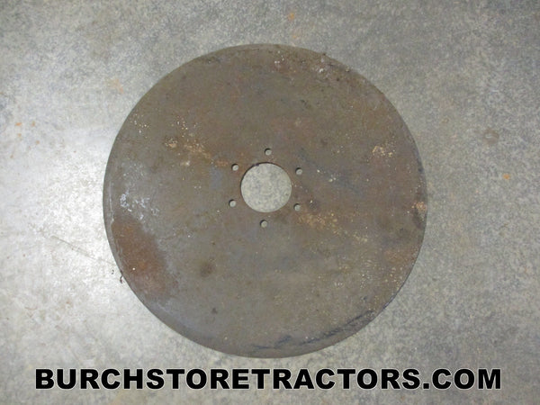 moldboard plow coulter disk