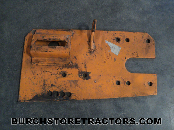 woods mower idler plate