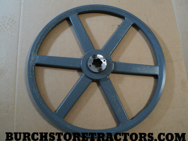 mower PTO shaft belt pulley with 540 RPM Insert
