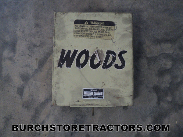 woods mower belt shield