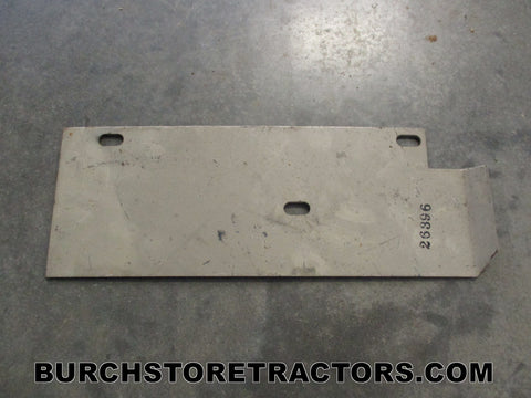woods mower right side shield