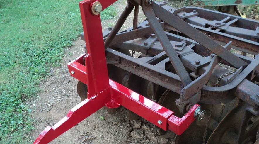 Farmall 1 Point Fast Hitch to 3 Point Adapter