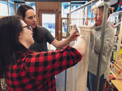 Kindred Post Workshops: Beginner Macrame with Jessica Hoffman