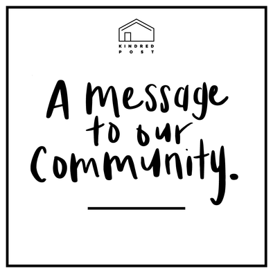 A message to our community regarding COVID-19
