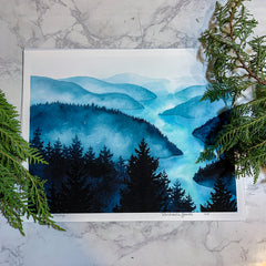 Inside Passage Print by Michaela Goade
