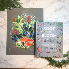 Root to Bloom Book & Toxic Alaska Print
