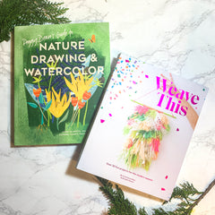 Wave This & Nature Drawing & Watercolor